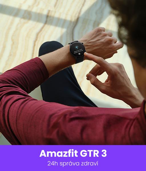 chytré hodinky amazfit GTR3