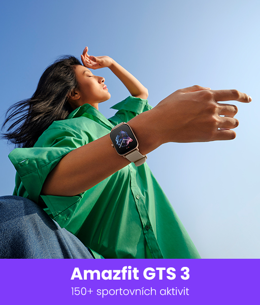 chytré hodinky amazfit GTS3