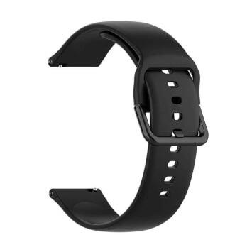 Xiaomi univerzální silikon strap 20 mm (černá)