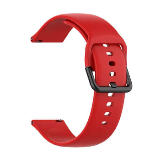 Xiaomi univerzální silikon strap 20 mm (červená)